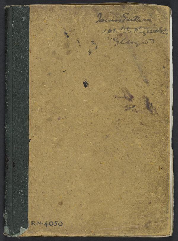 Sketchbook (About 1889 - 1890)