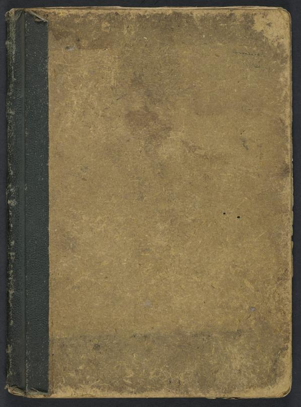Sketchbook, containing studies of landscapes in Scotland, England and Belgium (About 1905 - 1915)