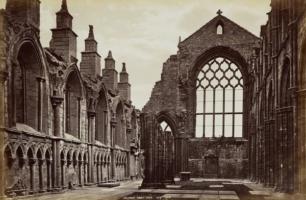 Holyrood Abbey nave, Edinburgh