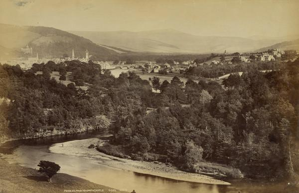 Peebles - from Neidpath Castle