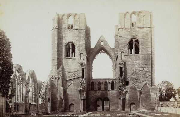 Elgin Cathedral, West Towers