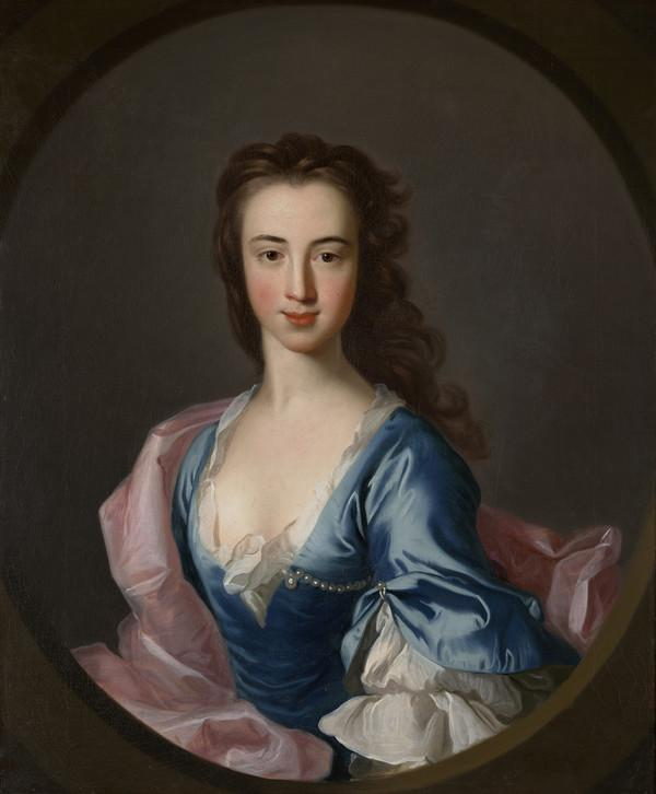 Portrait of Katherine Hall of Dunglass (Estimated earliest year: 1728)