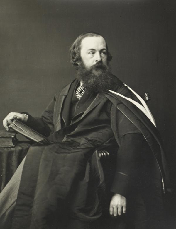 Hugh Blackburn, M.A., Professor of Mathematics