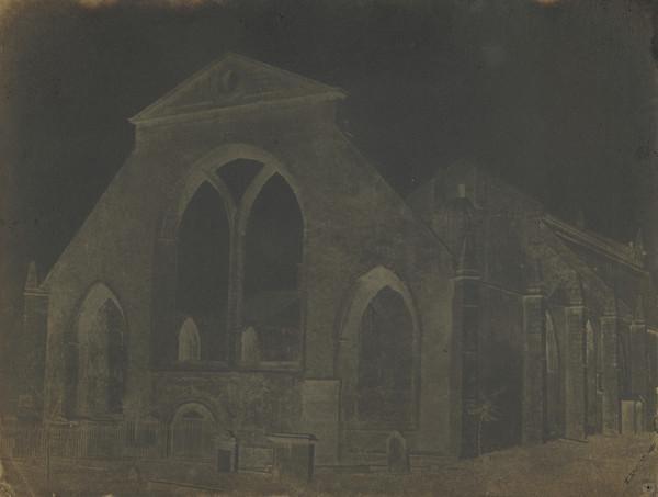 The ruins of Greyfriars' Church [Edinburgh 39] (1843 - 1847)