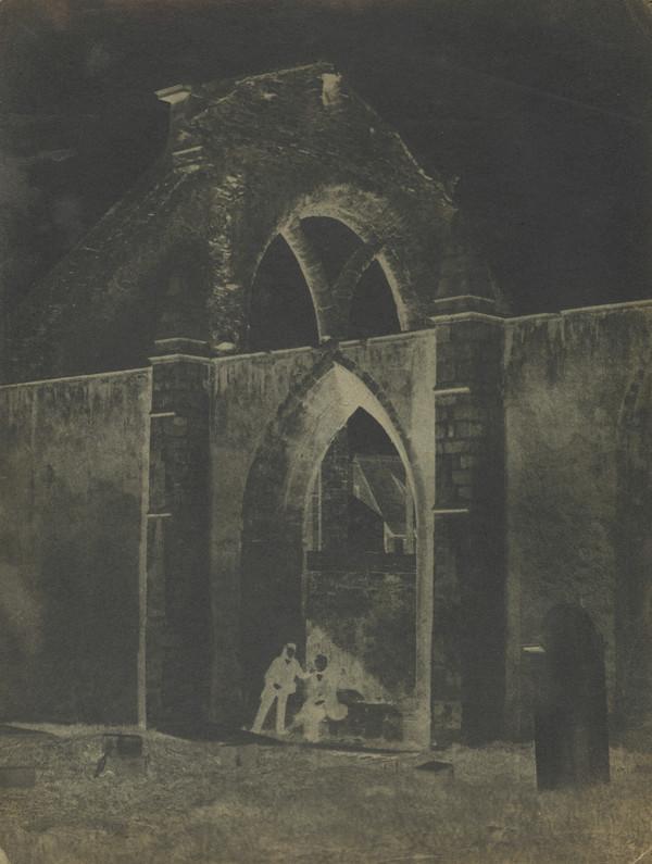 The ruins of Greyfriars' Church [Edinburgh 40] (1843 - 1847)