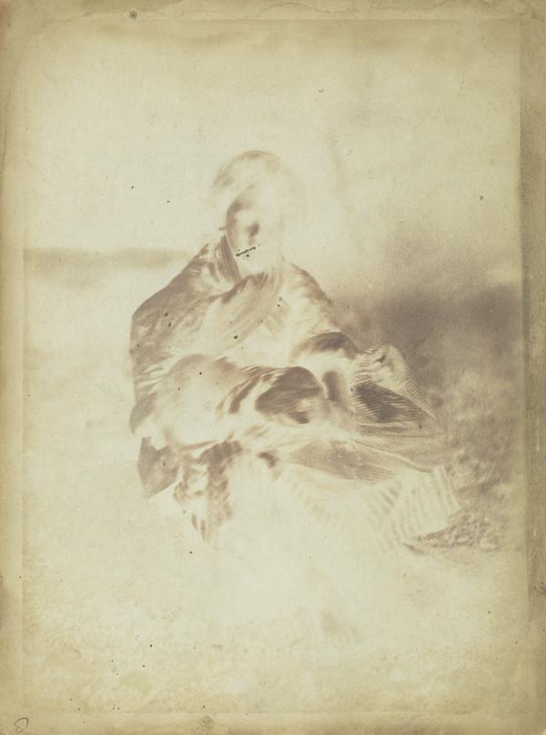 Unknown woman and baby [Newhaven] (1843 - 1847)