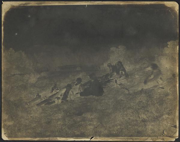 Picnic at Bonaly [Group 71 ?] (1843 - 1847)