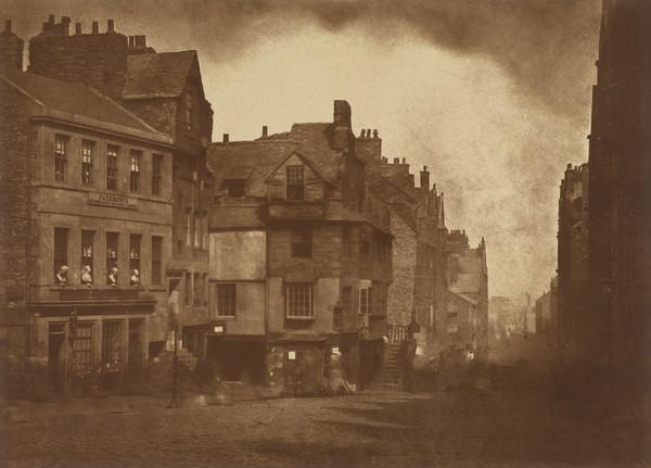 The High Street with John Knox's House [Edinburgh 1] (1843 - 1847)