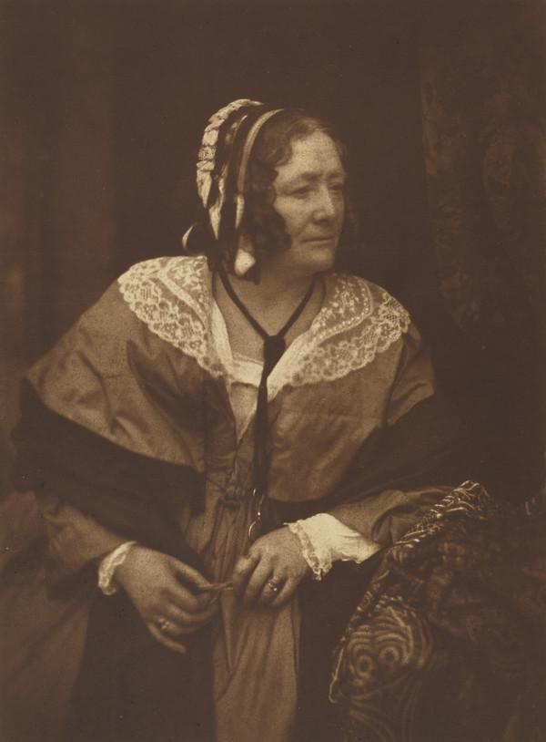 Mrs Anne (Brownell Murphy) Jameson, 1794 - 1860. Irish art historian and essayist [b] (1843 - 1847)