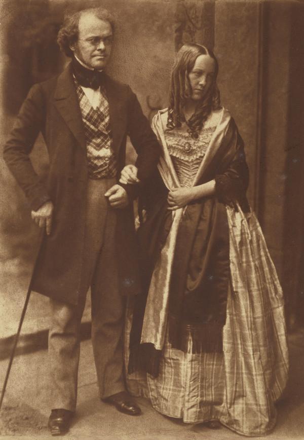 George Monro and Mrs Justine (Monro) Gallie [Group 196] (1843 - 1847)