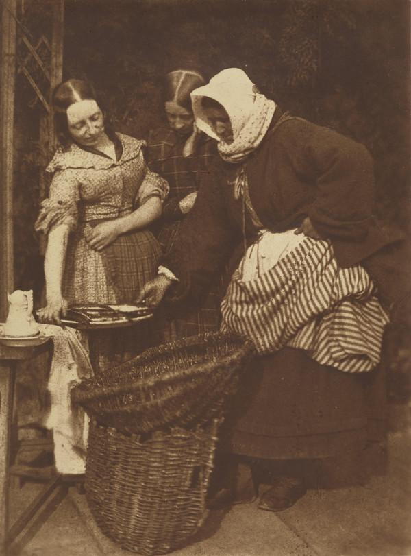 Two unknown women and Mrs Barbara (Johnstone) Flucker[Newhaven 37] (1843 - 1847)