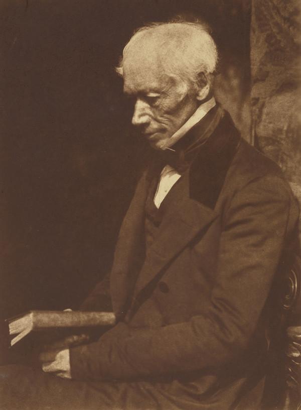 George Combe, 1788 - 1858. Phrenologist [a] (1843 - 1847)