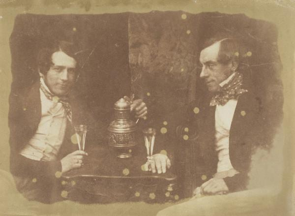 Sir James Young Simpson and  - Wainhouse (or Muirhouse) [Group 240] (1843 - 1847)