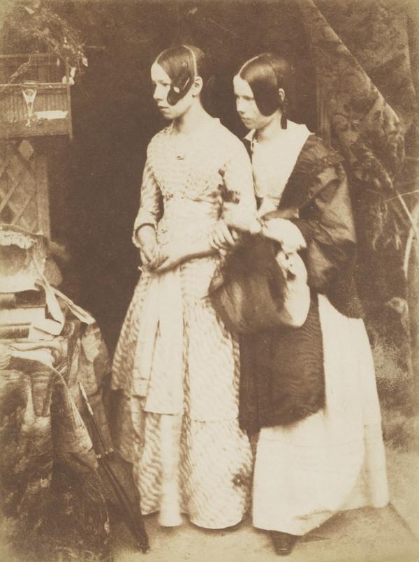 Miss Ellen and Miss Agnes Milne [Group 194] (1843 - 1847)