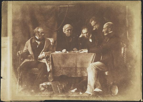 Marquis of Breadalbane, Sir David Brewster, Rev. Dr David Welsh, James Hamilton and Alexander Earle Monteith [Group 42] (1843 - 1847)