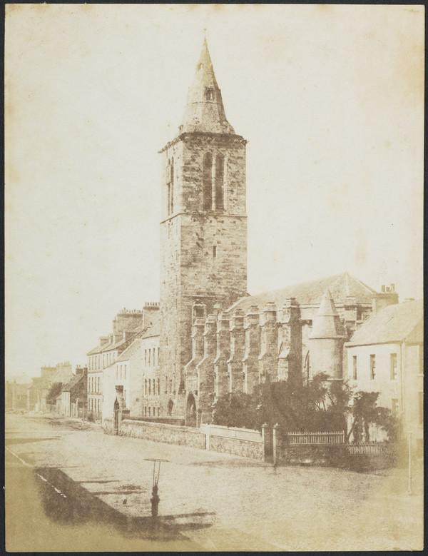 The College Church of St Salvator, looking west along North Street [St Andrews 38] (1843 - 1847)