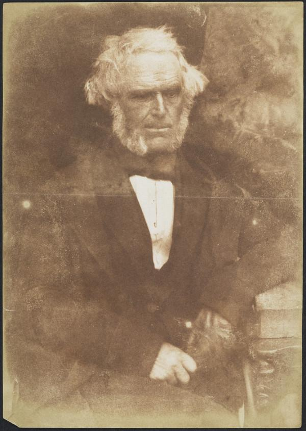 Rev. Dr Nathaniel Paterson, 1787 - 1871. Of St Andrews Church, Glasgow; Moderator of the Free Church Assembly, 1850 (1843 - 1847)