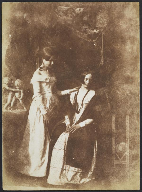 Miss Mary Watson and Miss Ross [Group 262] (1843 - 1847)
