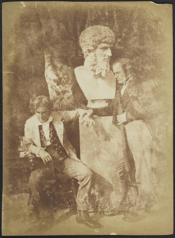 "David Octavius Hill and Professor James Miller. Known as 'The Morning After ""He greatly daring dined""' [Group 134] (1843 - 1847)"