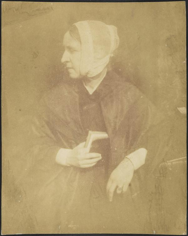 Mrs Mary (Hill) Watson. Sister of David Octavius Hill [c] (1843 - 1847)