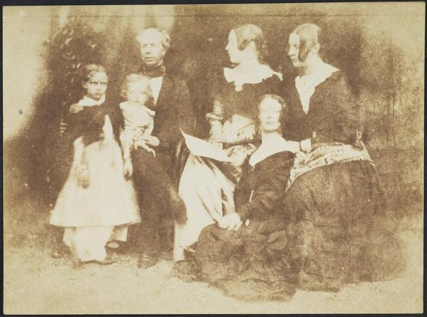 Sophia and Charles Finlay, Mr Finlay, Patricia Finlay, Mrs Finlay and Isabella Finlay [Group] (1843 - 1847)