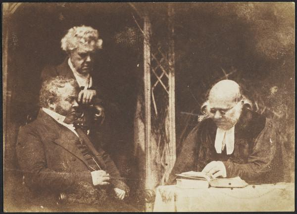 Rev. Dr Robert Burns, unknown man and Rev. Dr Patrick Clason [Group 70] (1843 - 1847)