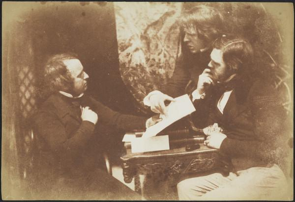 James Ballantyne, David Octavius Hill and Dr George Bell [Group 28] (1843 - 1847)