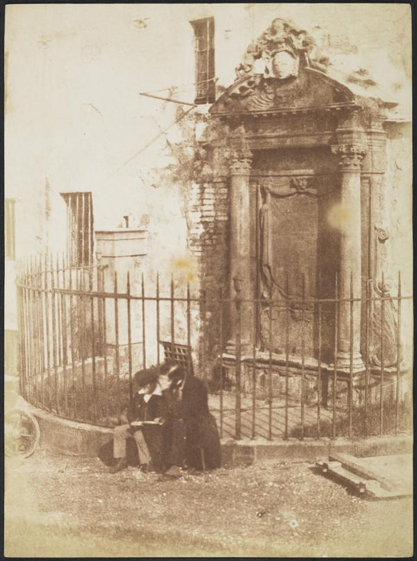 Mylnes Monument, Greyfriars Churchyard, Edinburgh [Edinburgh 77] (1843 - 1847)