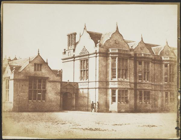 Madras College from the inner quadrangle [St Andrews 56] (1843 - 1847)