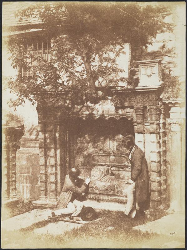 Naismith Monument with Thomas Duncan & D.O.Hill, Greyfriars Churchyard, Edinburgh (1843 - 1847)