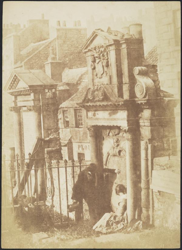 The Martyr's Monument & McCulloch Monument, Greyfriars [Edinburgh 54] (1843 - 1847)