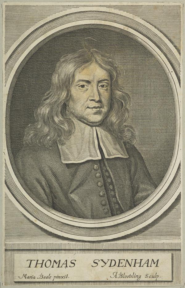 Thomas Sydenham, 1624 - 1689. Physician