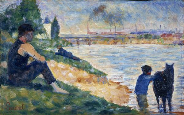 A Study for 'Une Baignade' (About 1883)