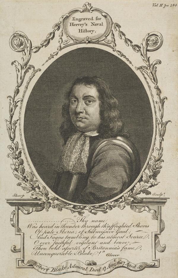 Admiral Robert Blake, 1599 - 1657
