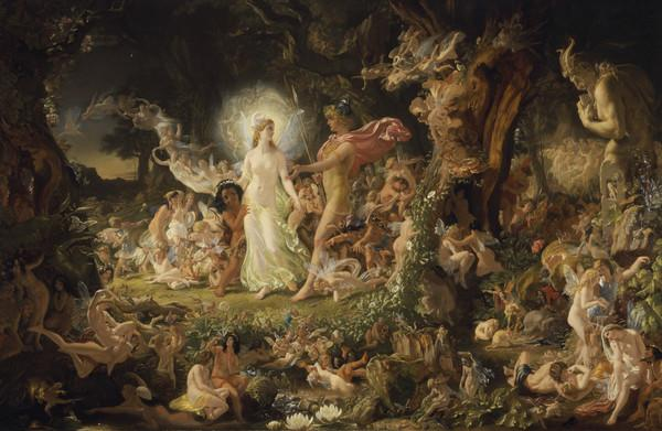 The Quarrel of Oberon and Titania (1849)