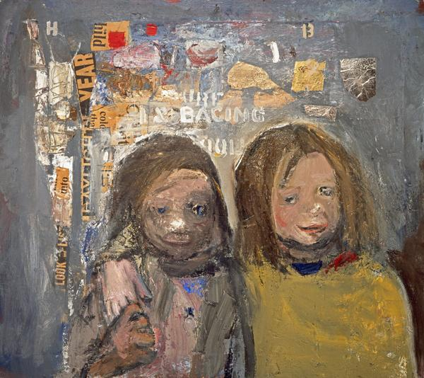 Children and Chalked Wall 3 (1962 - 1963)