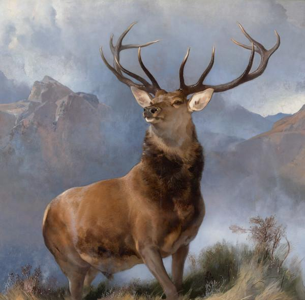 The Monarch of the Glen (About 1851)