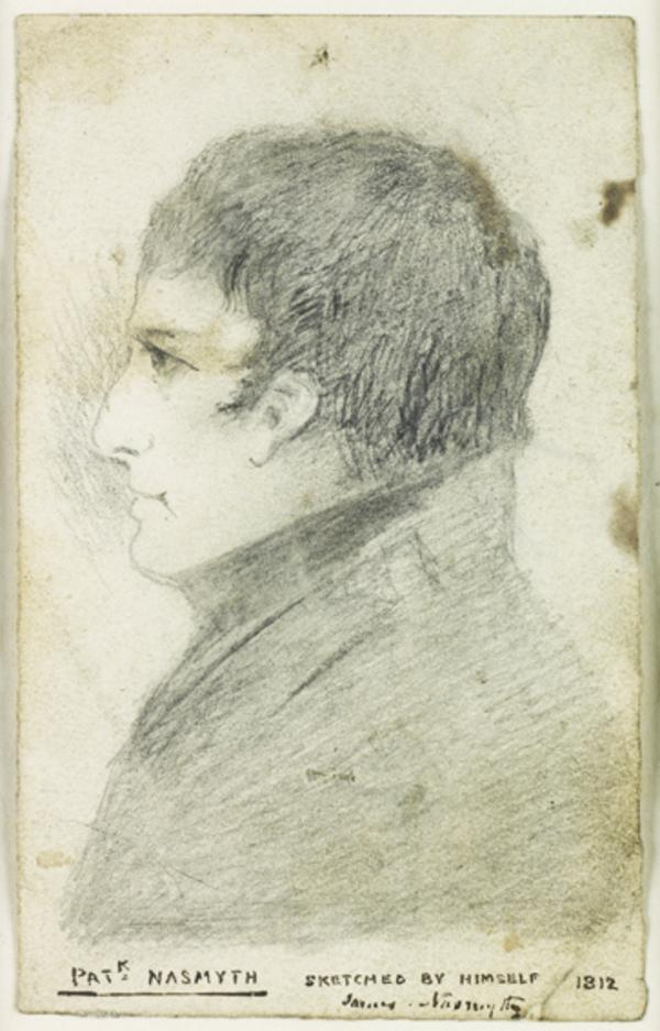 Patrick Nasmyth, 1787 - 1831. Artist (Self-portrait)