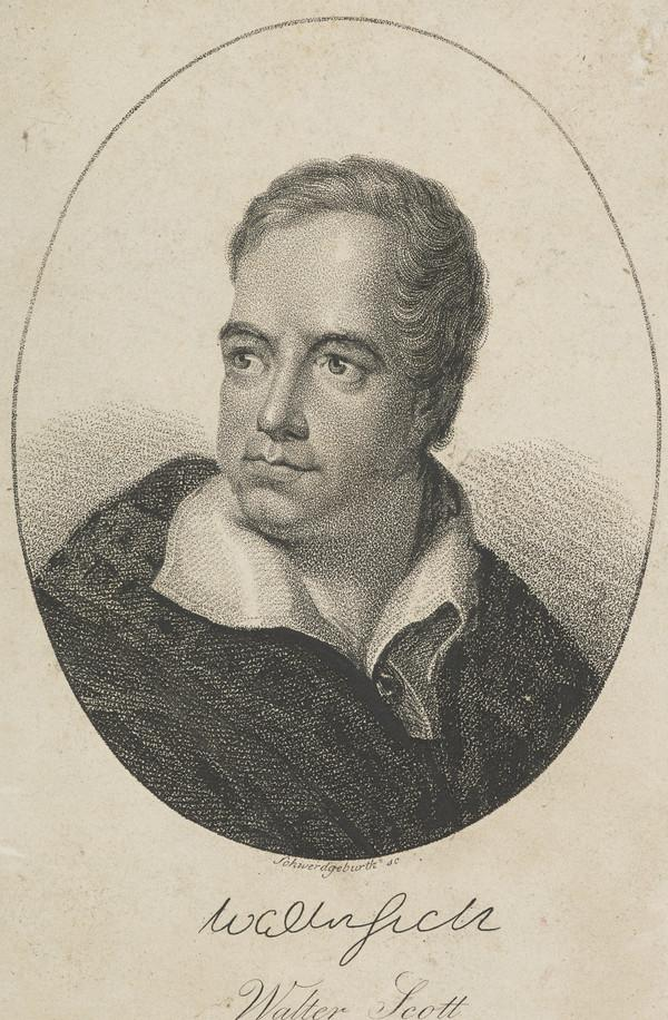 Sir Walter Scott, 1771 - 1832. Novelist and poet