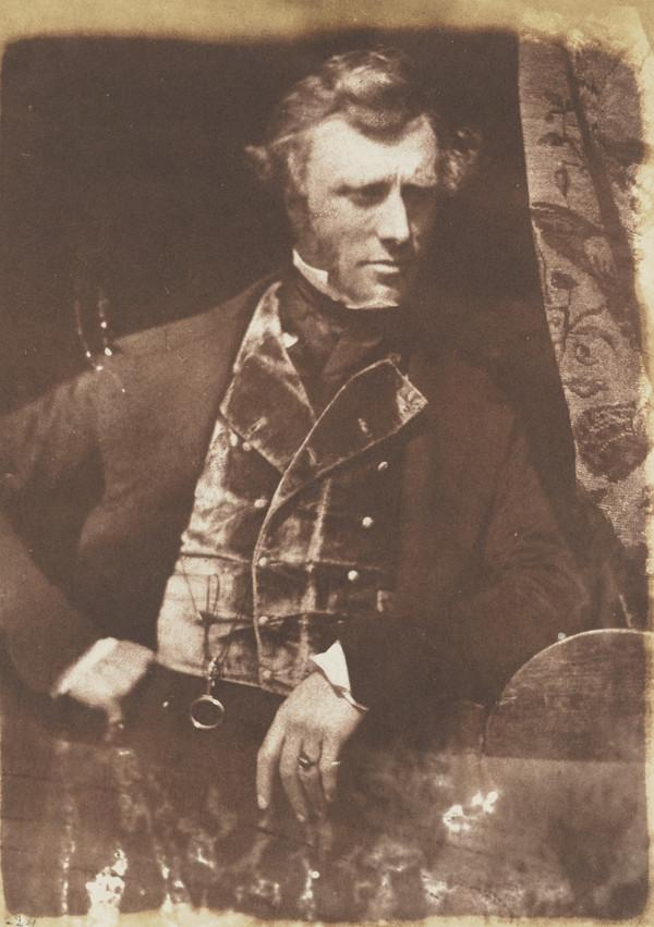 Mark Napier, 1798 - 1879. Advocate and historical writer; member of the Photographic Society of Scotland [c] (1843 - 1847)
