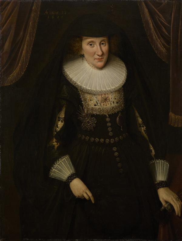 Lady Anne Hay, Countess of Winton, about 1592 - 1625 / 1628. Wife of the 3rd Earl of Winton