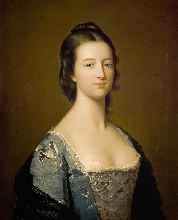 Elizabeth Gunning, Duchess of Hamilton (later Duchess of Argyll), 1733 - 1790. Famous beauty (after 1752)