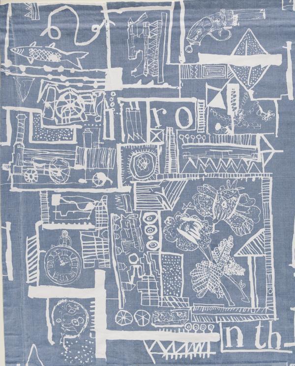 Hammer Prints Textile: Portobello (About 1954 - 1961)