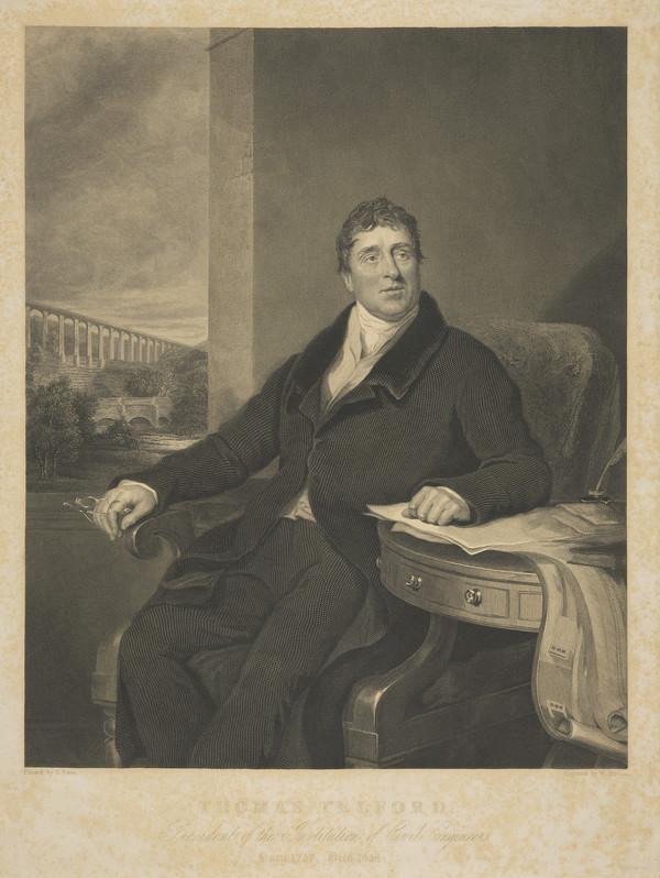 Thomas Telford, 1757 - 1834. Civil engineer