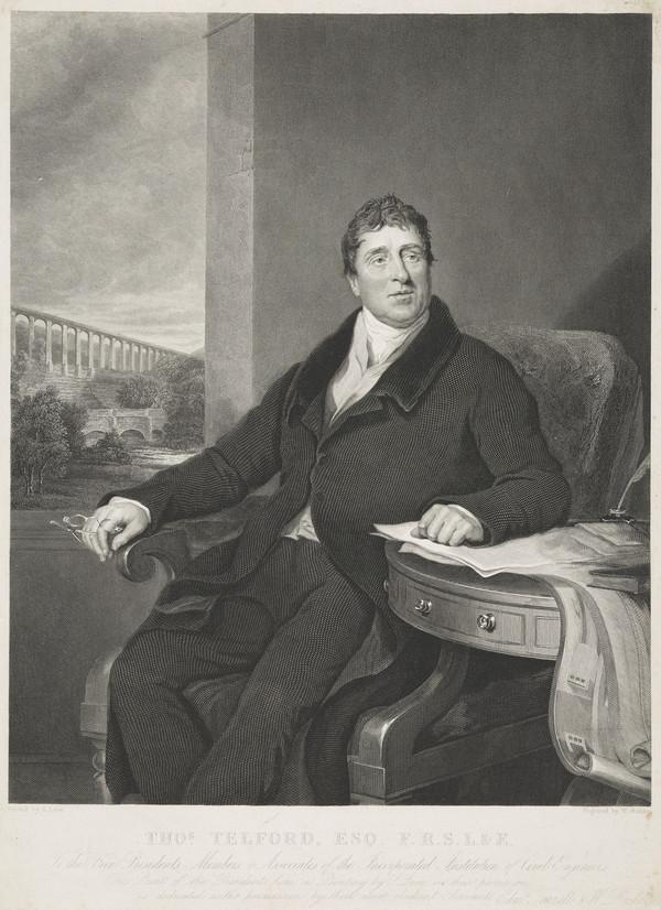 Thomas Telford, 1757 - 1834. Civil engineer (after 1822)