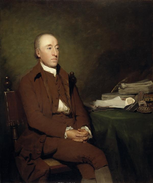 James Hutton, 1726 - 1797. Geologist (About 1776)
