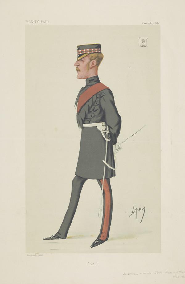 Sir W.A. Gordon-Cumming, 1848 - 1930 (Published 1880)