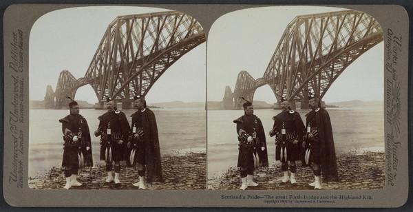 Scotland's Pride - The Great Forth Bridge and the Highland Kilt