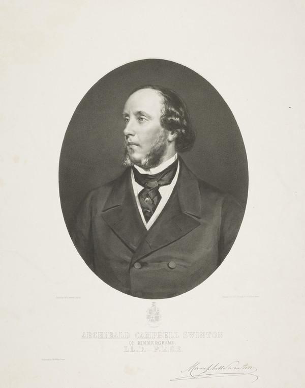 Archibald Campbell Swinton, 1812 - 1890