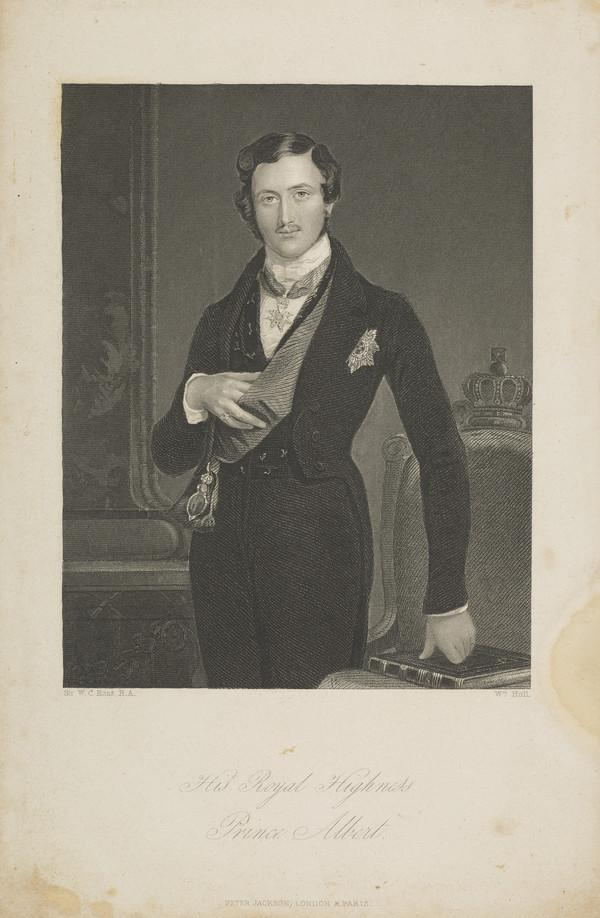 Prince Albert Francis Charles Augustus Emmanuel of Saxe-Coburg and Gotha, 1819 - 1861. Consort of Queen Victoria